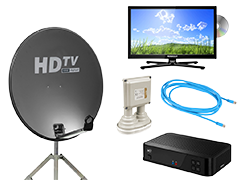 Tv, satellite & internet
