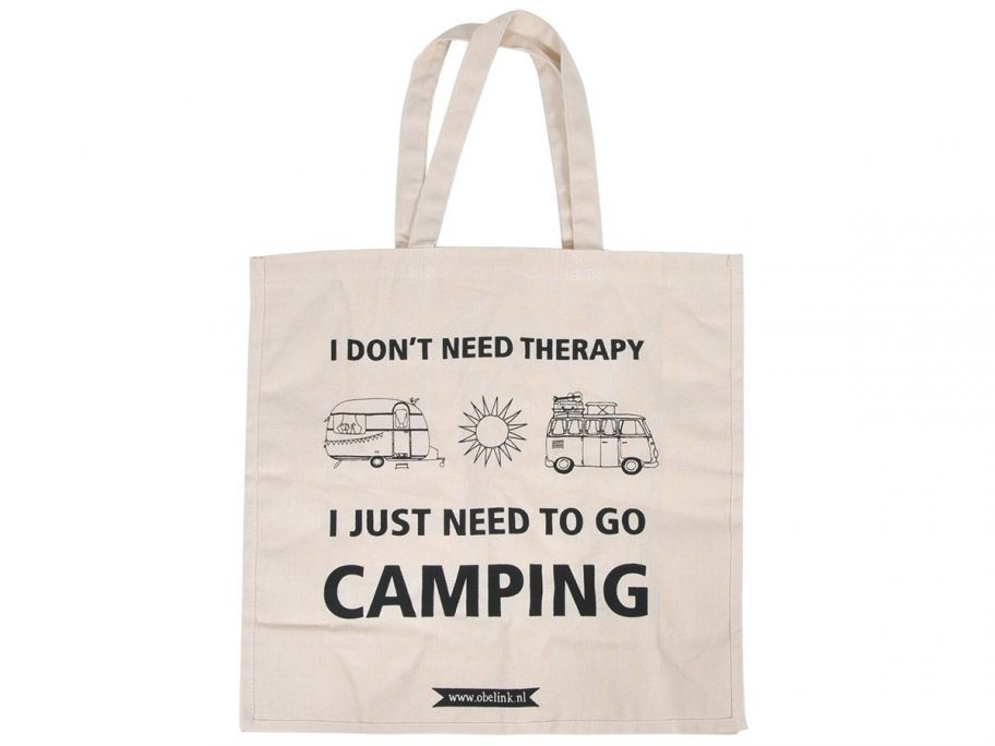 Obelink don't need therapy canvas sac