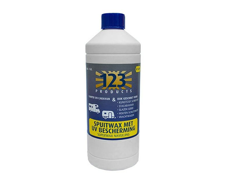 123 Products super cire UV