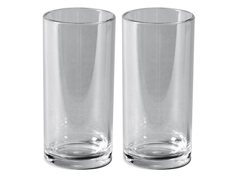 Bo-Camp Deluxe lot de 2 verres à soda