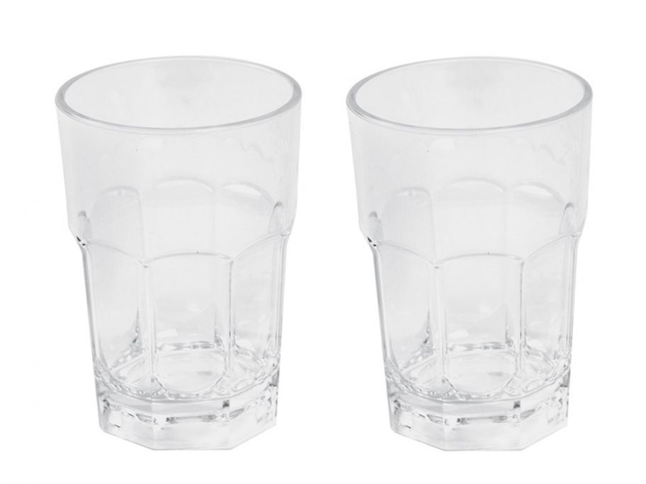 Bo-Camp Deluxe lot de 2 verres