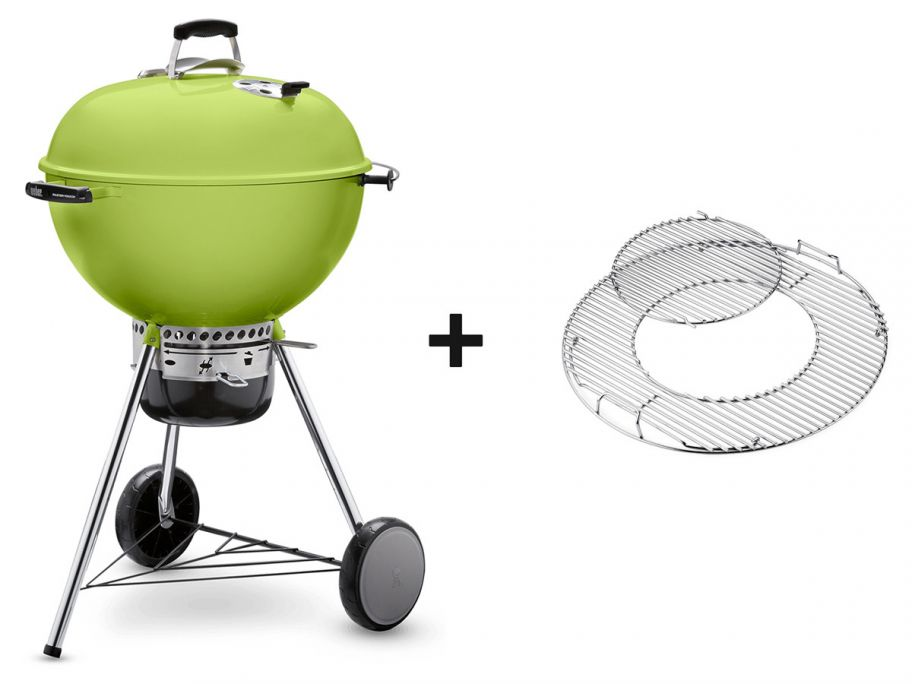 Weber Master-Touch GBS barbecue au charbon
