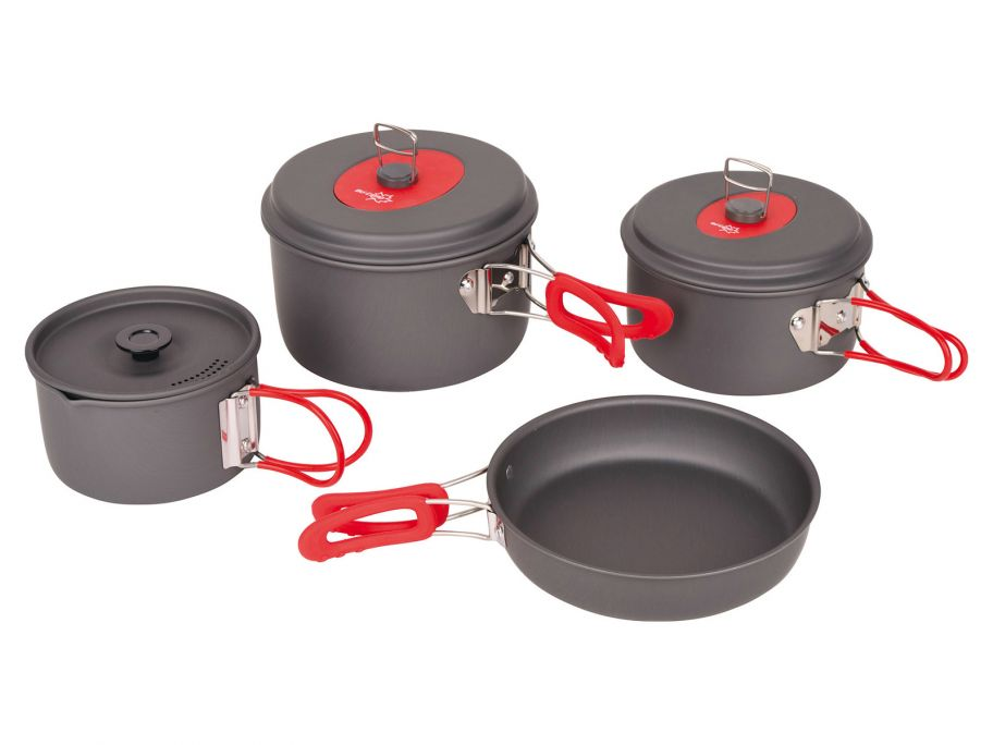 Bo-Camp Explorer lot de casseroles 4 pièces