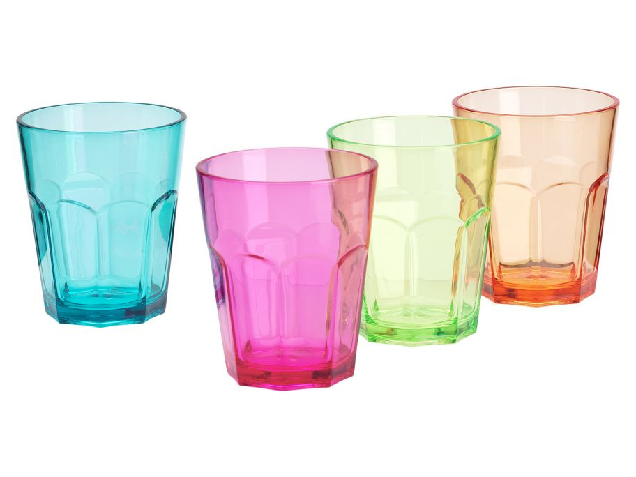 Flamefield lot de 4 verres à soda