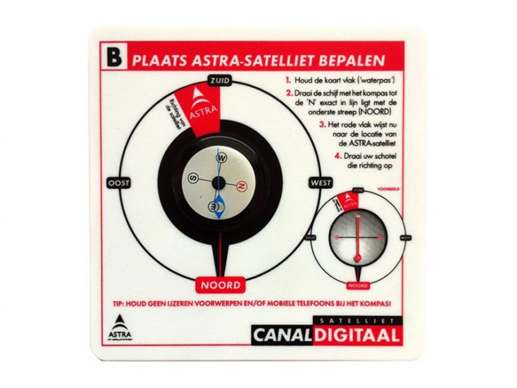 CanalDigitaal boussole satellite