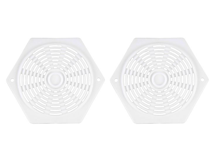 Grilles de ventilation hexagonales
