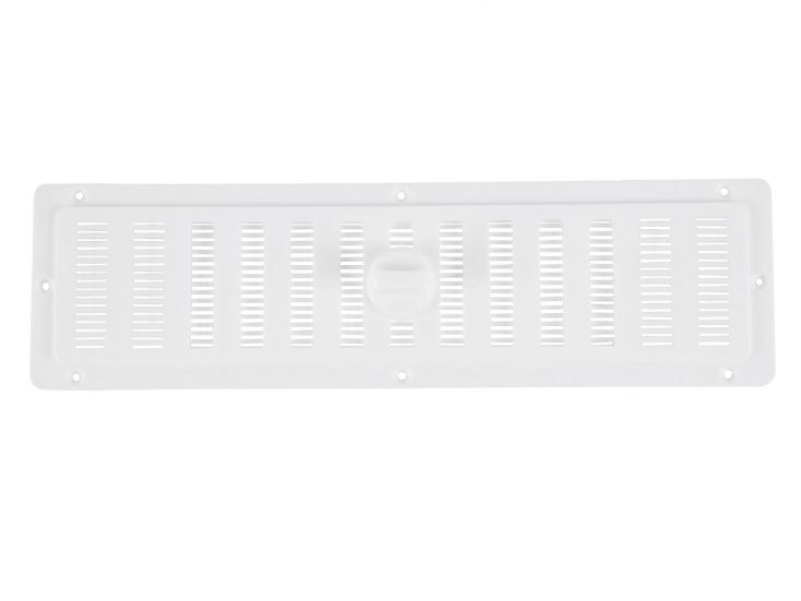 Grille de ventilation semi refermable
