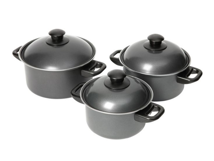 Bo-Camp Rondo lot de casseroles