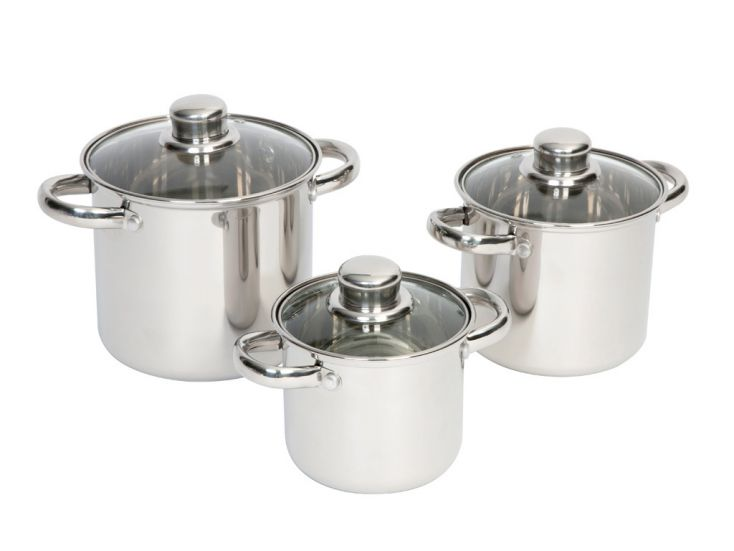 Bo-Camp Royal Plus lot de casseroles