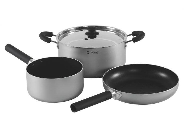 Outwell Feast Kit L lot de casseroles