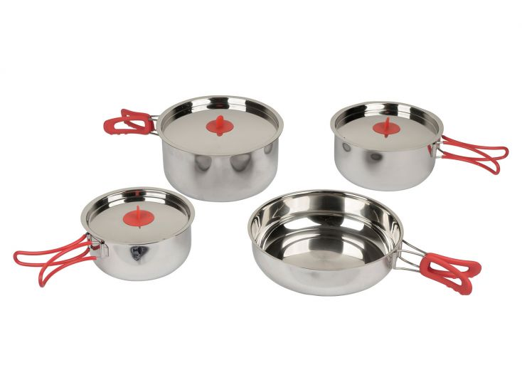 Bo-Camp Travel lot de casseroles