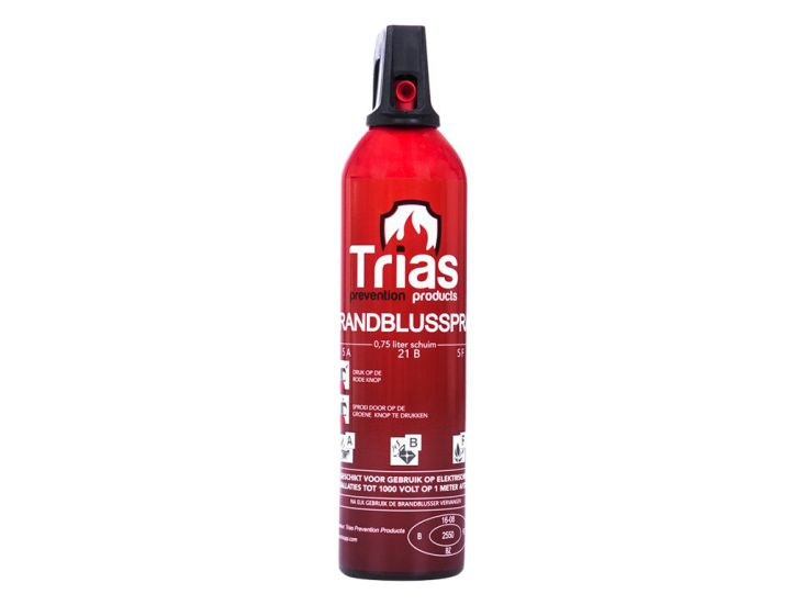 Trias spray extincteur mousse