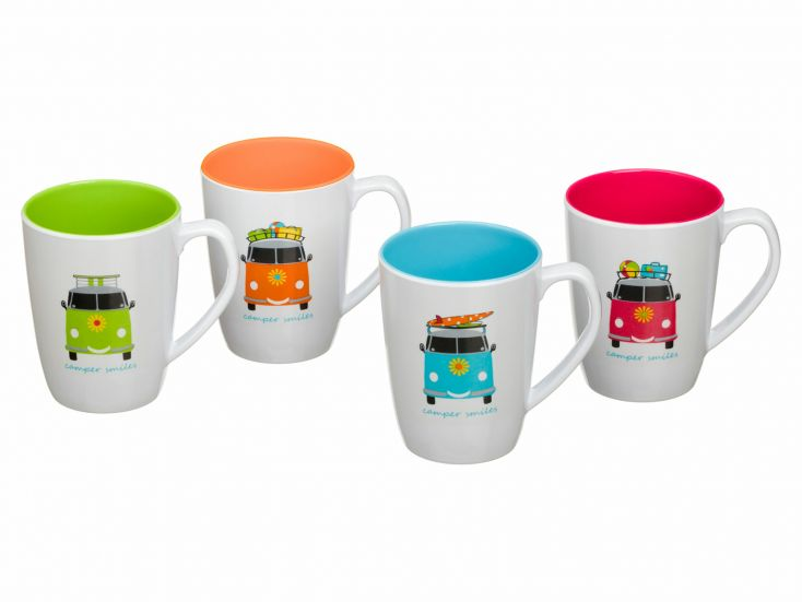 Flamefield Camper Smiles lot de tasses