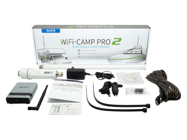Alfa WiFi-Camp Pro 2 amplificateur WiFi