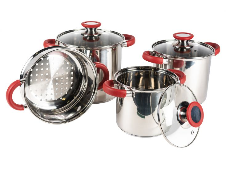 Kampa Space Saver Deluxe lot de casseroles