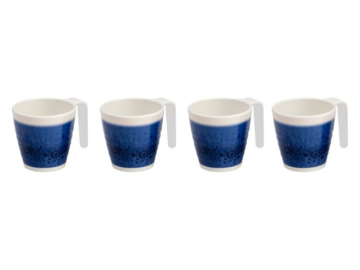 Flamefield Azure lot de tasses