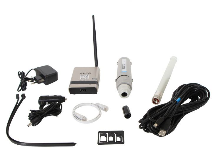 Alfa Camp Pro 2+ amplificateur 4G