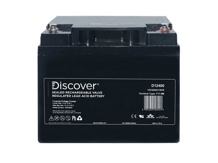 Discover 12400 AGM batterie