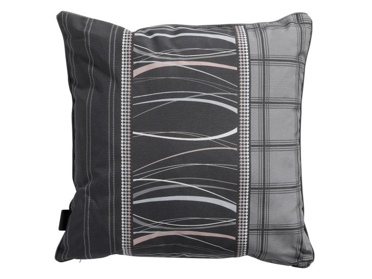 Madison Lines grey coussin déco
