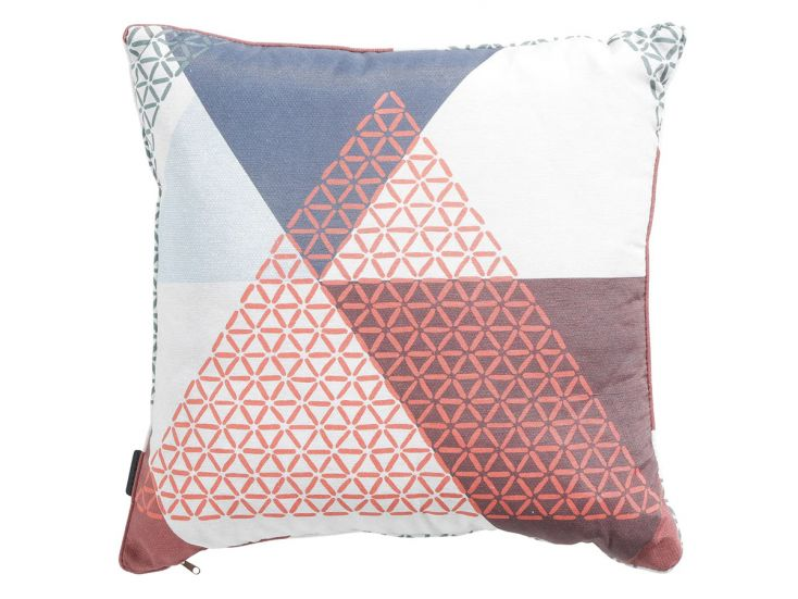 Madison Triangle blue coussin déco