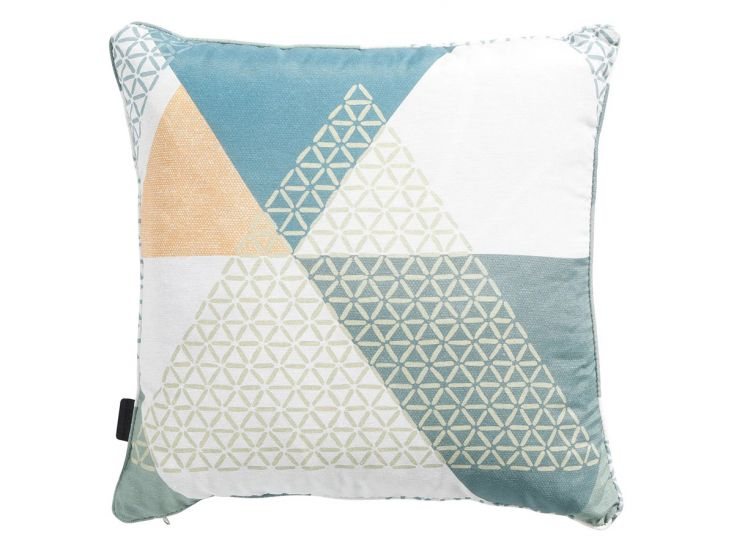 Madison Triangle green coussin déco