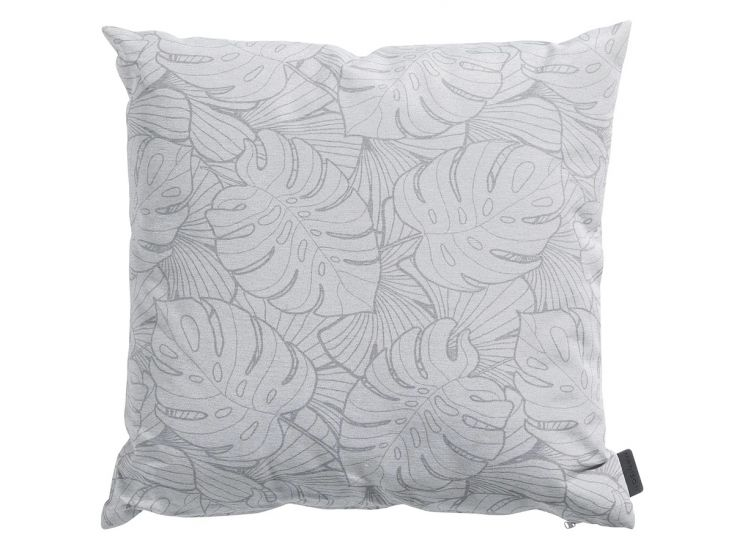 Madison Palm grey outdoor coussin déco